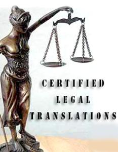 certified translations